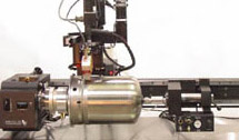 PWL-15-36 Precision Welding Lathe with Laser Seam Tracker