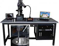 AWS-200 Vertical Welding Positioner, Micro-Tig Welding Station with Arc Camera & Monitor