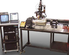 AWS-300/6100 System with Automatic Laser Seam Tracking