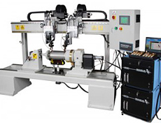 Dual Torch Automatic Welding Lathe