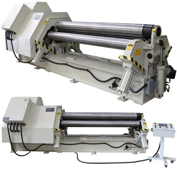 Heavy Duty 8ft 4-Roll Bending Machine