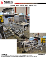 Elevated Seam Welder with Transfer Cart