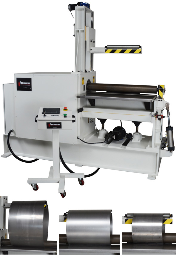 CNC 3-Roll Heavy Duty 36 Inch Bending Machine_main